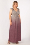 Платье Милана Милада макси длина градиент