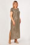 Платье Диор-2 Милада макси блестящее